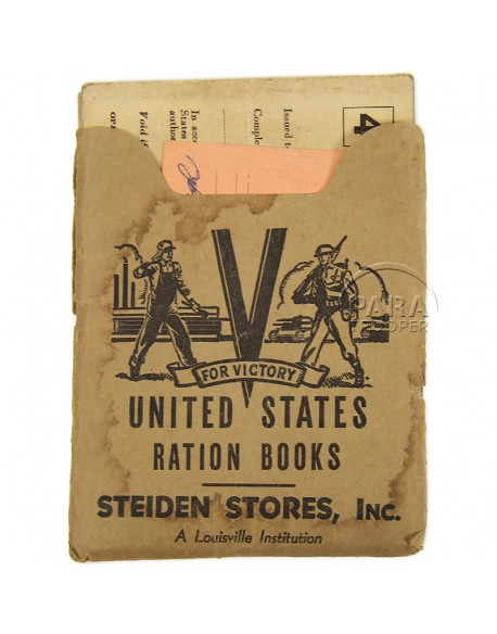 Carnets, War Ration Books