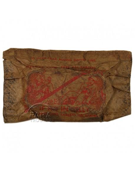 Paquet de sulfadiazine, Wound Tablets, Lederle