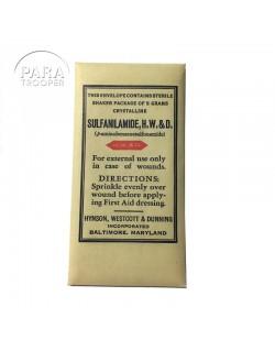 Sachet de sulfanilamides, H.W.& D.