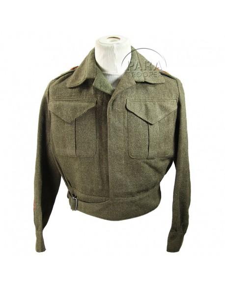 Battle Dress, Canadian, Lieutenant, Named