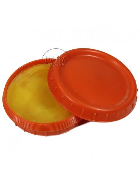 Dish, Butter, in Bakelite, Orange