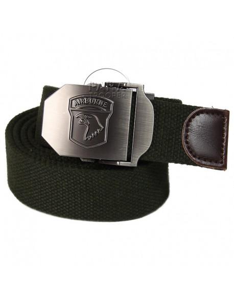 Belt, Trousers, 101st Airborne Div., OD green
