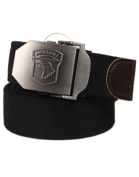 Belt, Trousers, 101st Airborne Div., Black