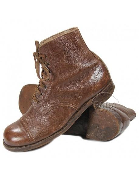 Boots, Ammo, Combat, British, 1942