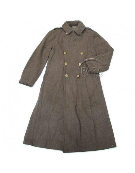 Capote en laine, 1942
