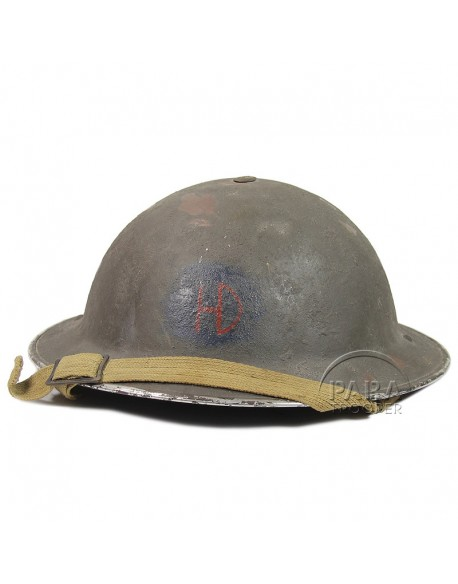 Casque MKII, 51st Highland Division, 1943