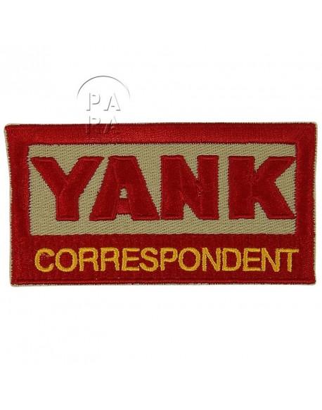 Insigne Yank Correspondent