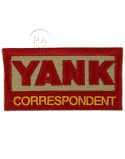Patch, Yank Correspondent