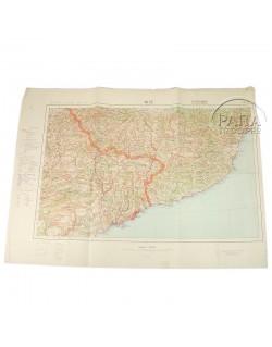 Carte allemande de Nice, 1936