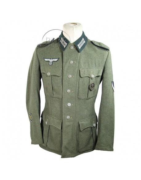 Tunic feldgrau, M-1936, Gefreiter, Medic