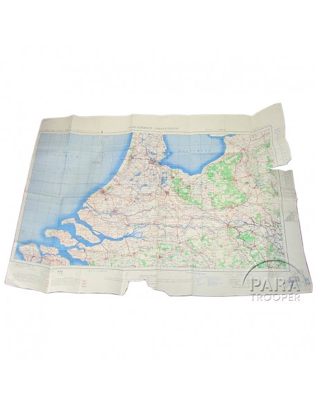 Map, Holland Airborne sector, Army/Air, 1944