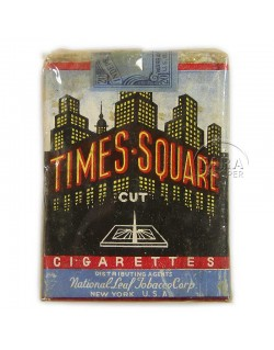 Cigarettes, Times Square, pack, 1940