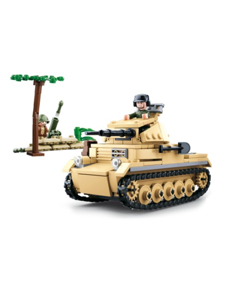 German Tank with mortar lego