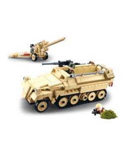 Semi-chenillé SdKfz 251 lego