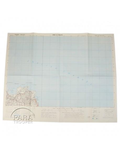 Carte Anse-St-Martin (Cherbourg) 1943
