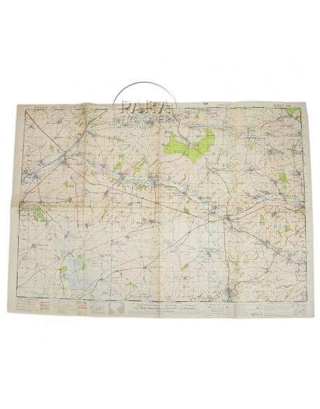 Carte Montcornet (France) 1943