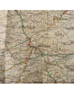 Carte Italie, Partie 14, 1943, Army / Navy
