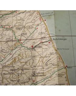 Map, US Army, Italy sheet 14, 1943, Army / Navy