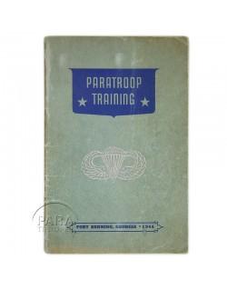 Carnet de saut, Fort Benning, 1944