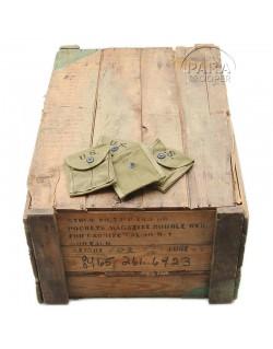 Porte-chargeurs carabine USM1, HAMLIN CANVAS GOODS CO. 1943