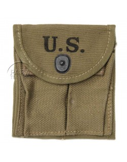 Pouch, Magazine, M1 carbine, HAMLIN CANVAS GOODS CO. 1943