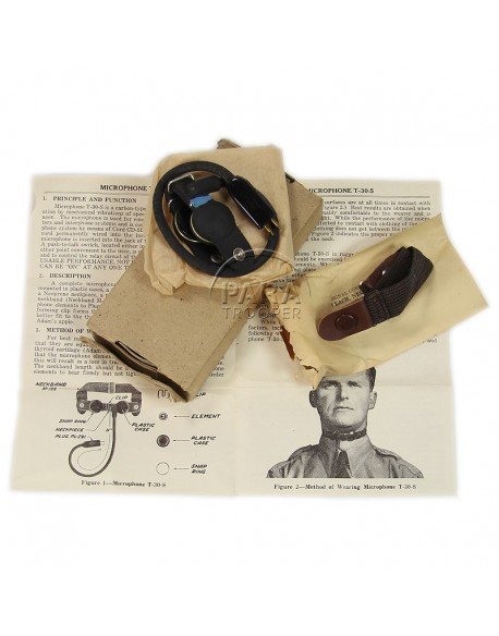 Microphone, Throat, T-30, in box