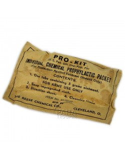 Pro-Kit packet, The Reese Chemical Co.