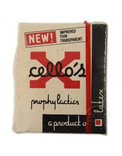 Boite de préservatifs, Cello's