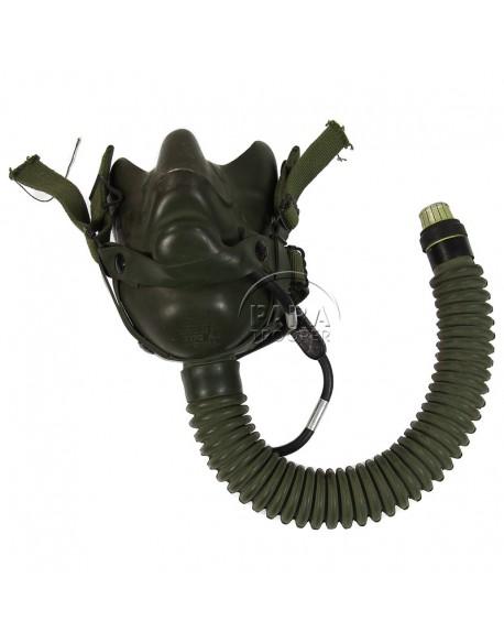 Masque à oxygène A-14 avec micro, 1944