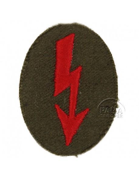 Badge, Specialist, Nachrichten, Artillery, Embroidered
