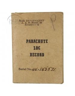 Parachute Log Book