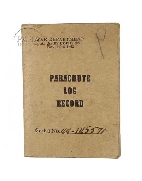 Record, Log, Parachute, 1943
