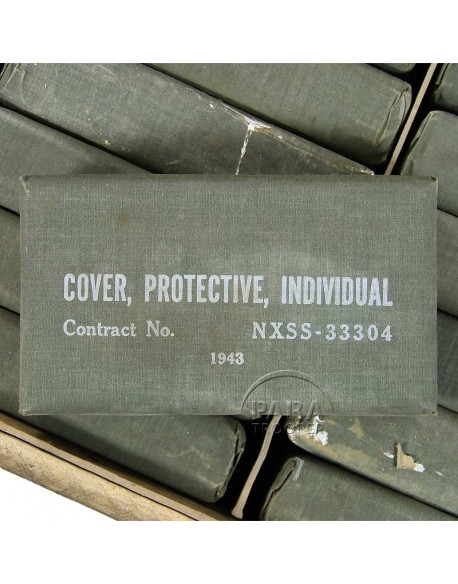 Cape anti-gaz, 1943