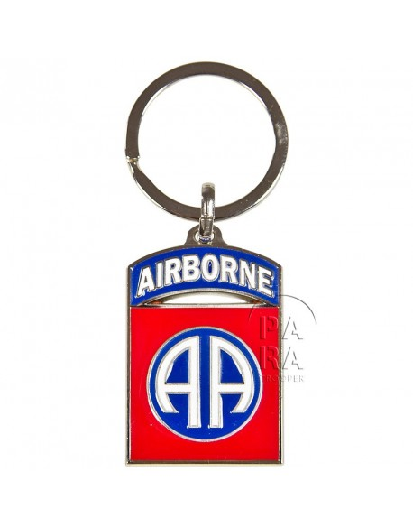 Key chain, 82nd airborne