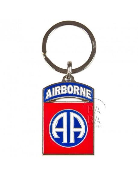 Key chain, 82nd airborne