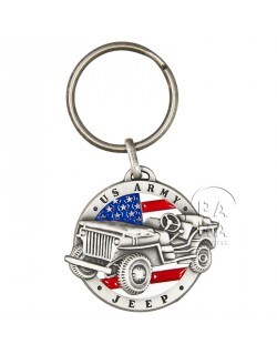 Key Ring, US Army Jeep