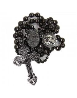 Chapelet US Army catholique en métal