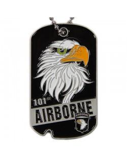 Plaque d'identité, Eagle, 101e Airborne