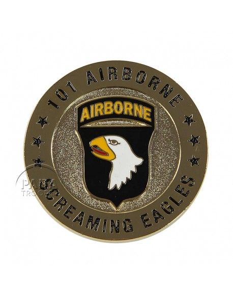 Pièce commémorative, Screaming Eagle, 101e Airborne
