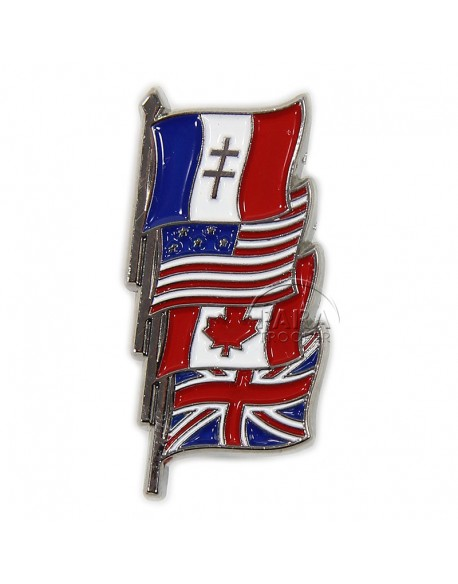 Pin's Drapeaux de la Victoire