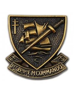 Crest 1er B.F.M. (No. 4 Commando)