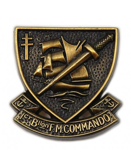 Crest, No. 4 Commando, insignia