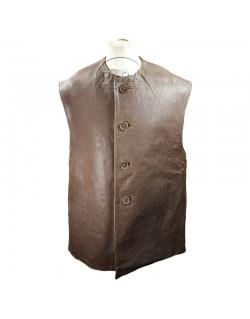 Veste en cuir, Leather Jerkin, britannique