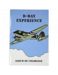Book, Coloring, D-Day Experience