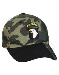 Cap, Baseball, 101st AB Div., Camouflaged