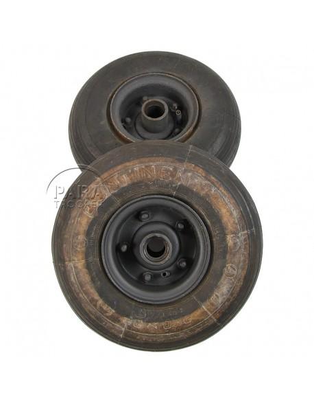Wheels, Container, Parachutist, German, Continental & Dunlop