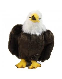 Peluche aigle, 24 cm