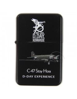 Lighter, type ZIPPO, 75th D-Day Anniversary, D-Day Experience