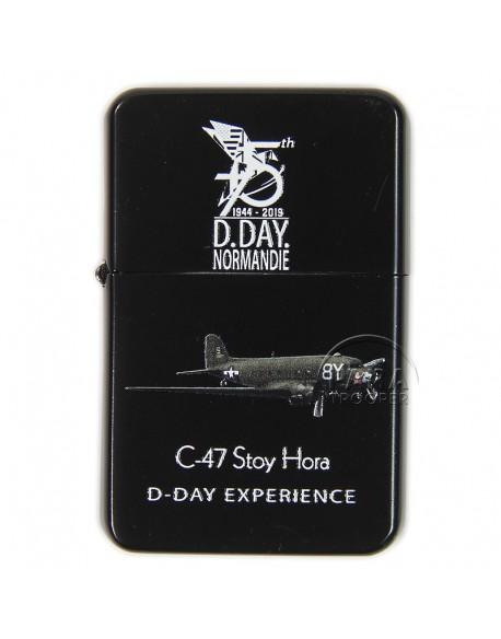 Briquet type ZIPPO, D-Day Experience, 75e Anniversaire du débarquement
