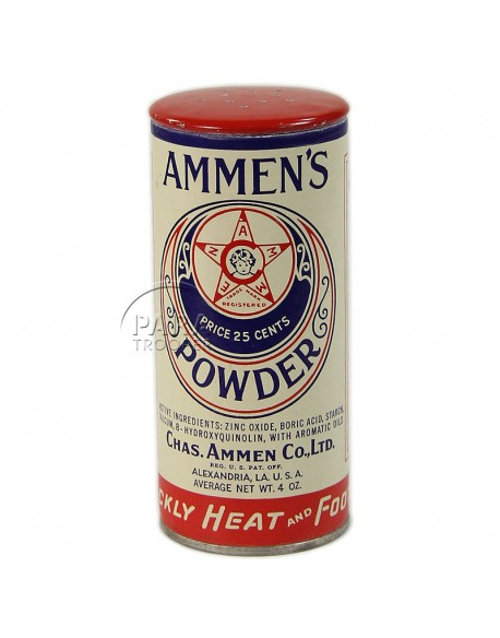 Powder, antiseptic, can, Armed Forces